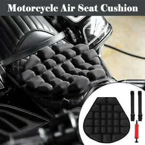 Riding Motorcycle Seat Non-slip Inflatable Cushion Cover Mesh Air Pad Boom AU