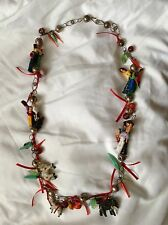 Vintage Authentic Mexican Wedding Necklace
