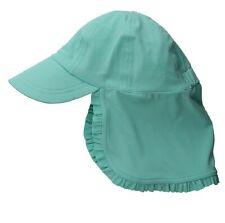 NWT Seafolly Girls' Flyer Sun Protection Beach Hat, Medium/Large, Emerald Blue