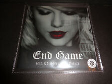 "Taylor Swift ""End Game"" Featuring Ed Sheeran & Future PROMO CD SINGLE Brazil"