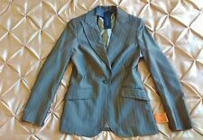 Tommy Hilfiger Blazer Jacket Designer Ladies Womens Size 6 Grey BNWT RRP £185
