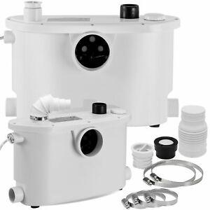 KESSER® Hebeanlage Zerkleinerer Kleinhebeanlage Fäkalienpumpe WC , Dusche NEU
