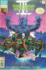 Teenage Mutant Ninja TURTLES #1 Movie 3Archie Comics