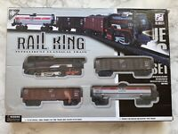 REMOTE CONTROLLED TRAIN SET INTELLIGENT SIMULATION OVER 1M LONG MANY FEATURES
