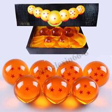 Creative 7pcs Set Anime Dragon Ball Z Stars Crystal Balls Collection With Box