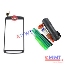 Grey LCD Touch Screen+UV Glue for Samsung Galaxy S4 Active GT-i9295 i537 ZJLT789
