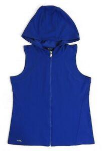 Ralph Lauren Zip Down Sleeveless Hoodie Jacket Vest Hooded Sweatshirt S M L XL