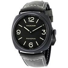 Panerai Radiomir Ceramica Black Dial Matte Ceramic Mens Watch PAM00643
