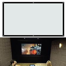 """100"""" Pulgadas Flex Pantalla de proyección Proyector Cine en Casa Teatro 16:9"""