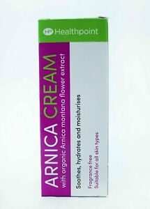 Healthpoint Arnica Cream 50ml Natural Herbal Remedy First Aid Bruises UK Dispatc