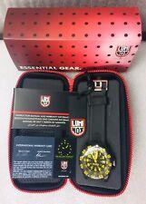 Luminox Taucheruhr 3055 schwarz/gelb; Navy Seals Armbanduhr