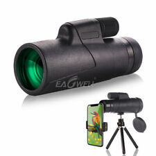 For Cell Phone 10X Monocular Hd Zoom Telescope Telephoto Camera Lens + Tripod Us