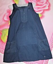 CECIL Tunika Top Shirt Bluse Baumwolle Gr. S 36 38 blau TOP