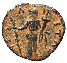 """Septimius Severus Limes Denarius """"Hilaritas With Palm"""" Reverse Mule Rare VF"""