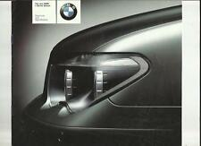 BMW 735i AND 745i PRICE LIST SALES BROCHURE MARCH 2002