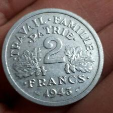 2 FRANCS BAZOR 1943 TB BELLE PIECE