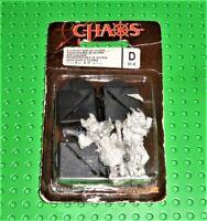 "WARHAMMER Fantasy metal ""CHAOS Bloodletters of Khorne"" 2004 Sealed W192"