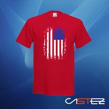 Camiseta bandera estados unidos eeuu america barras estrellas (ENVIO 24/48h)