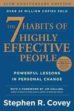 The 7 Seven Habits of Highly Effective People by Stephen R. Covey Hardcover