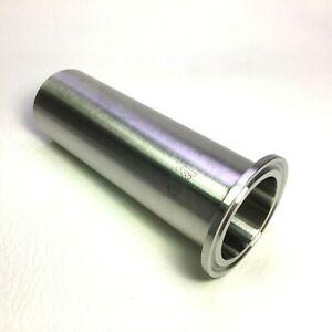 "Waukesha 1 1/2"" Tri-Clamp Sanitary Tube Long Butt Weld Ferrule • 316L SS"