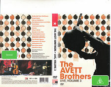 The Avett Brothers-Live,Volume 3-80 Minutes-The Avett Brothers-Music Band-DVD