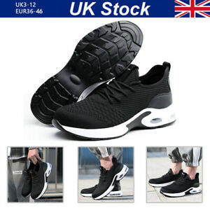 Lightweight Safety Trainers Steel Toe cap Mens Women Work Shoes Hiking boots UK