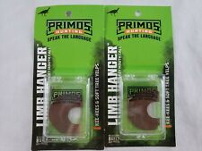 Lot of 2 Primos Hunting Turkey Call Limb Hanger Mouth Call with Case