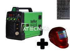Saldatrice a filo continuo combinata elettrodo AERRE 205A MIG MMA + maschera LCD