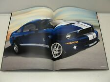 ORIGINAL 2008 FORD MUSTANG V6 GT SHELBY GT500 SALES BROCHURE