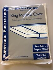 King or Double Mattress cover - moving, Removals, decoration, Storage etc  BNIB
