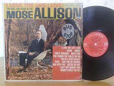 Mose Allison,I Love The Life I Live,Columbia CL1565,2EYE MONO,VG+ Vinyl Jazz LP