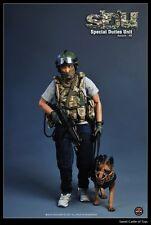 1/6 SOLDIER STORY Figura HONG KONG sdu ESPECIAL Duties Unidad Asalto K9 SS097