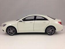 Norev Mercedes Benz CLA Class (C117) White Dealer Edision Diecast Model Car 1/18