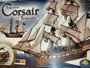 Occre model kit, Corsair pirate ship