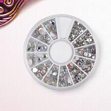 Nail Art Glitter Strass Pailetten Rhinestone 1.5-5.0mm Nagel Sticker