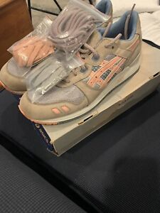 Ronnie Fieg x Asics Gel Lyte III Flamingos-Size 9-Worn Once