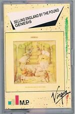 GENESIS SELLING ENGLAND BY THE POUND MC K7 MUSICASSETTA