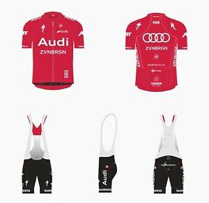 Castelli Audi Cycling Team Race Kit (Jersey + Short Bibs) Brand NEW