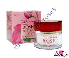 "DAY CREAM ""Rose of Bulgaria"" 50ml with Natural Bulgarian Rose Water PARABEN FREE"