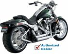 Vance & Hines Shortshots Staggered Exhaust Pipes 1986-2011 Harley Softail 17221