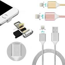 2.4A Magnetic Micro USB Data Lightning Charge Cable For Android HTC LG Lot