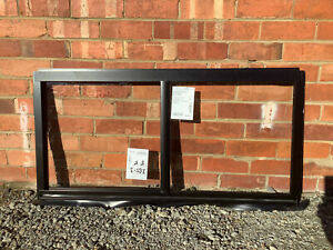 600h x 1210w BRAND NEW Aluminum Sliding window Custom Black Clear Float IN STOCK