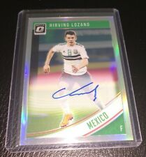 2018-19 DONRUSS SOCCER - HIRVING LOZANO (MEXICO) OPTIC REFRACTOR AUTO