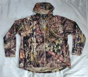 3XL Men's Mossy Oak Scent Control Hunting Jacket, Mossy Oak Breakup Country