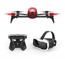 Parrot Bebop 2 FPV rot Set mit Skycontroller und FPV-Brille Kamera Drohne