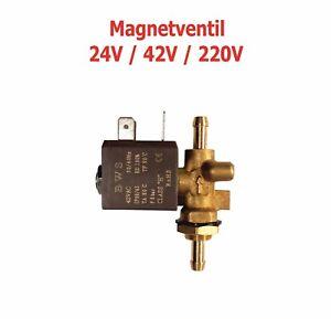 Gas Magnetventil Tülle Tülle MIG - WIG Schweissmaschinen 24V AC / 42V AC / 220V