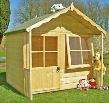 Kitty Childrens Wooden Playhouse