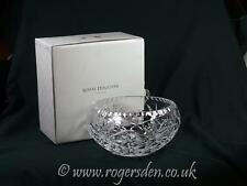 Royal Douton Crystal  Bowl In The Newbury Design RRP £70