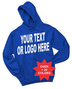 Custom Hoodies Sweatshirt  Print  logo Personalized