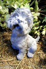 """Westie dog latex mold with plastic backup concrete plaster mould 5.5""""H x 4.5""""W"""